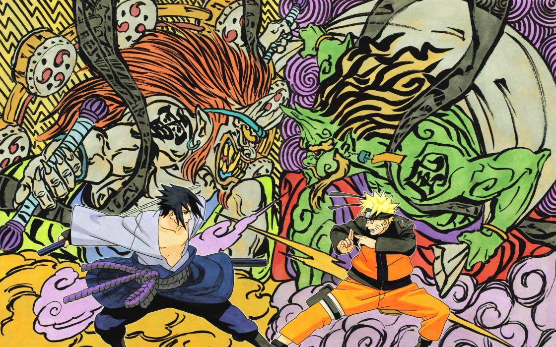 Uchiha sasuke naruto shippuden naruto uzumaki wallpaper