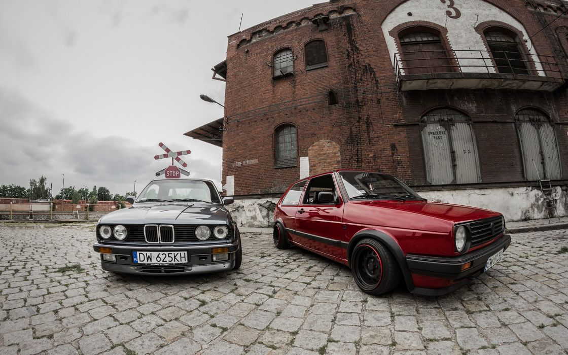 Bmw golf poland  volkswagen bmw e30 classic cars wallpaper
