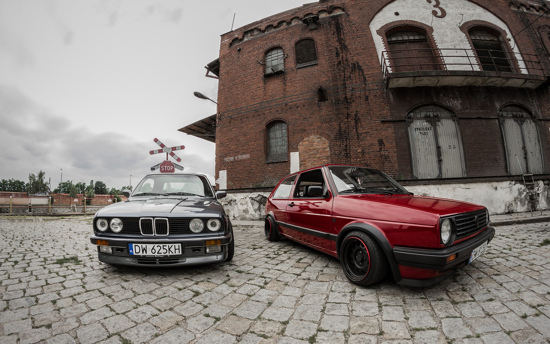 Bmw Golf Poland Volkswagen E30 Classic Cars Wallpaper