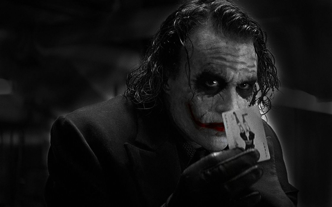 Movies the joker heath ledger batman the dark knight wallpaper