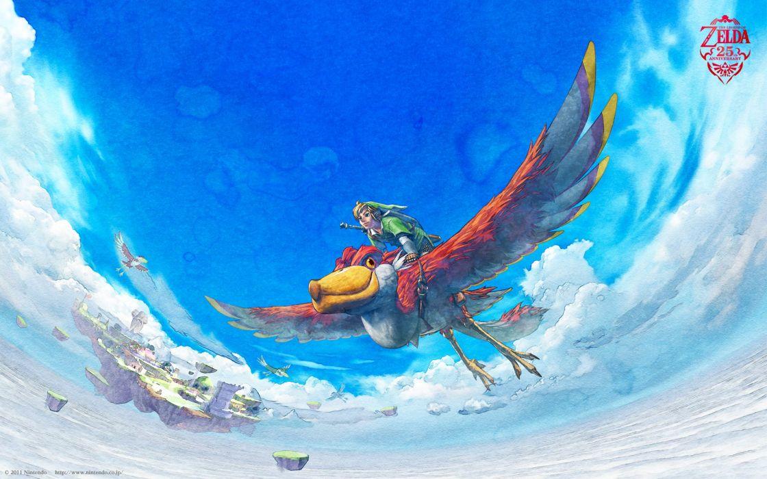 Video games link fantasy art the legend of zelda the legend of zelda skyward sword wallpaper