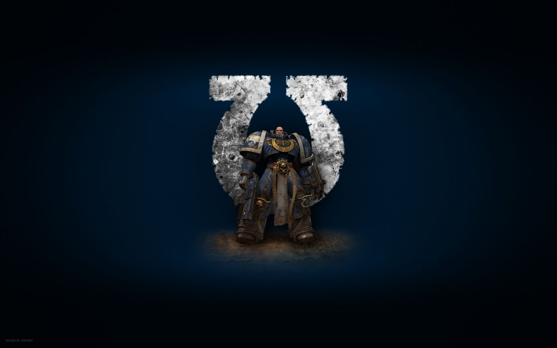 Warhammer 40k space marines ultramarine wallpaper