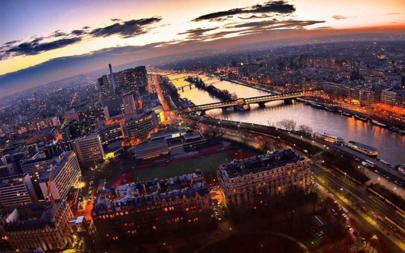 Eiffel tower paris cityscapes wallpaper