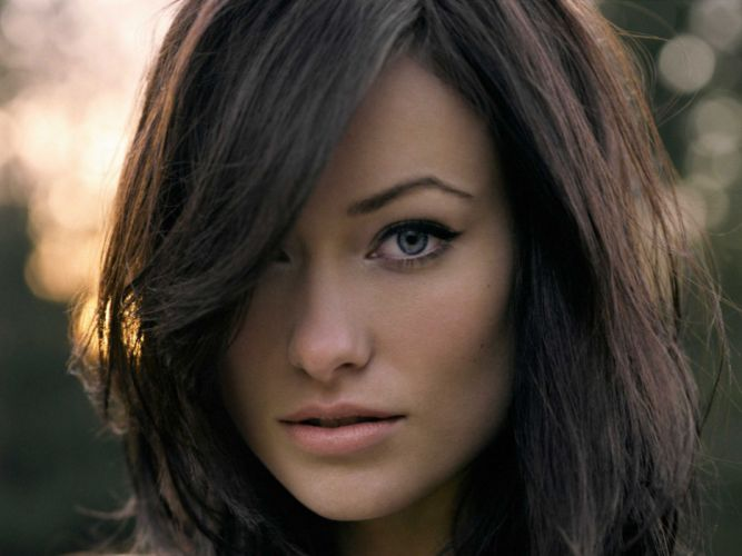 Brunettes women olivia wilde wallpaper
