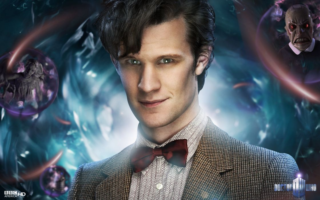 Matt smith eleventh doctor doctor who wallpaper