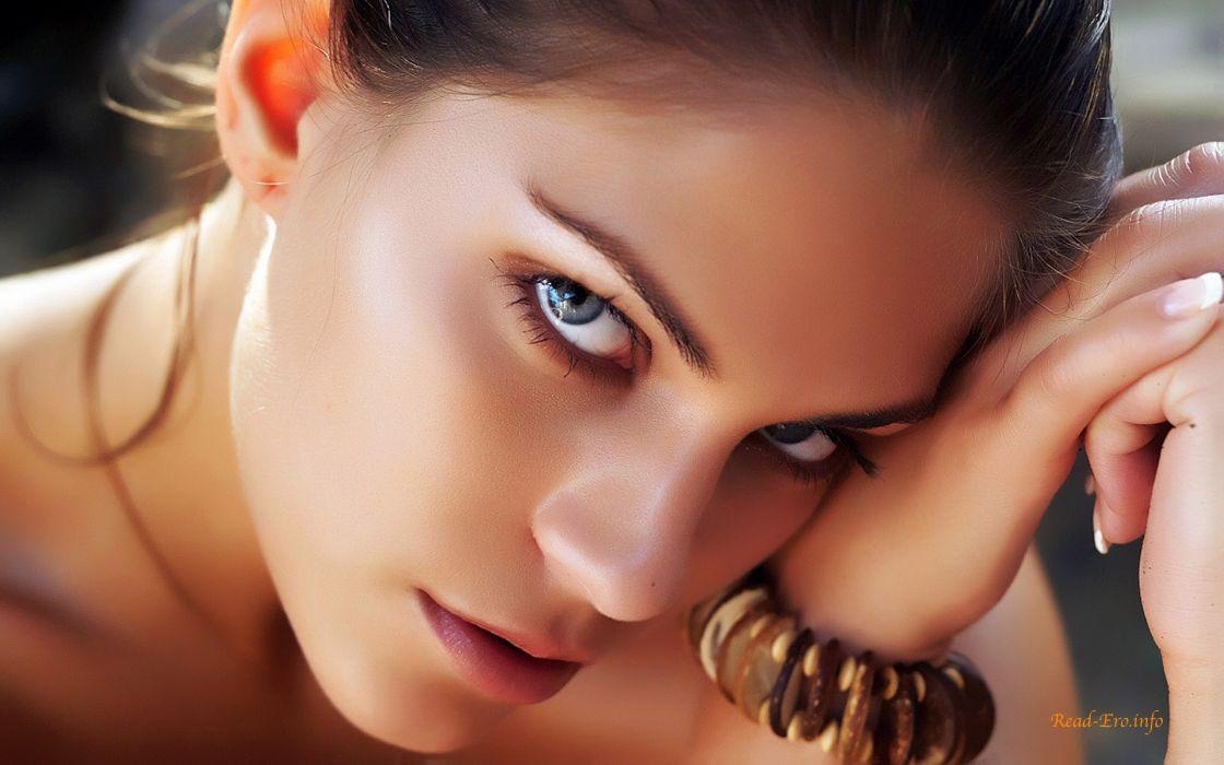 Women close-up faces francesca b wallpaper