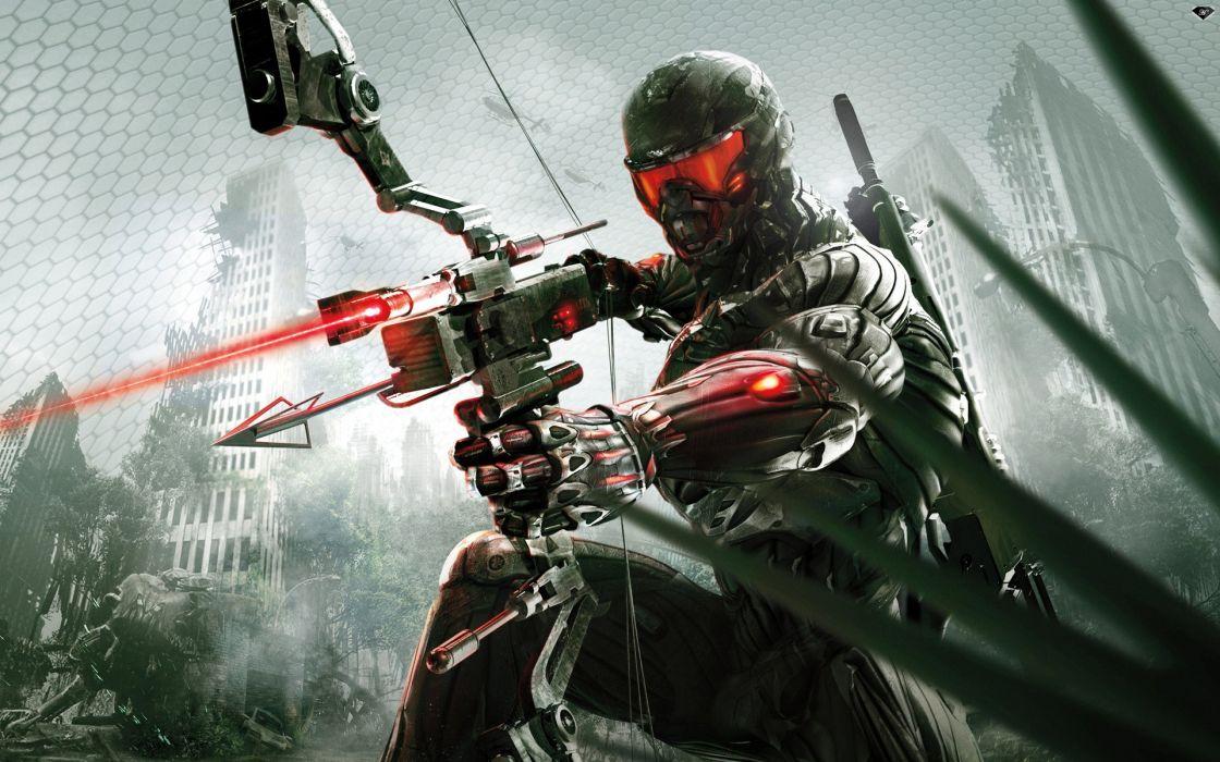 Wall bows crossbows crysis 3 game wallpaper