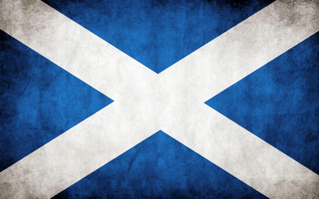Flags scotland wallpaper
