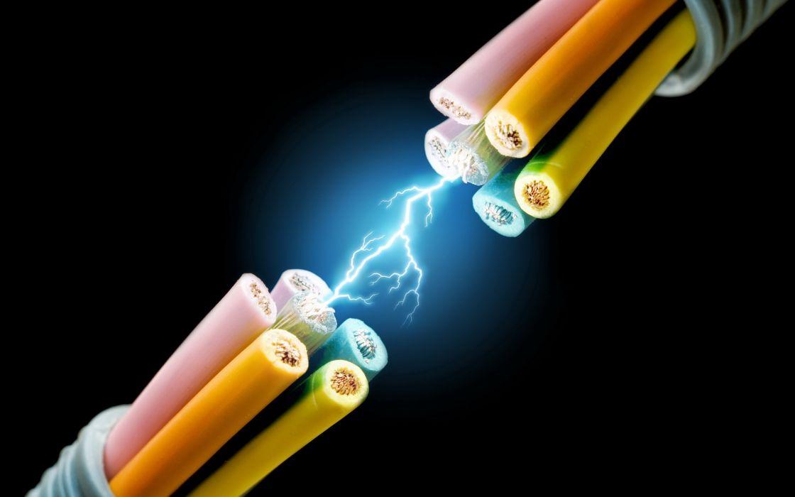 Voltage wire wallpaper