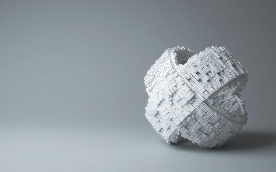 3D view models rings wallpaper