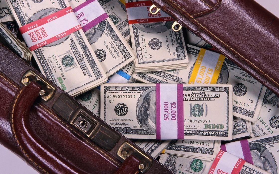 Money dollar bills benjamin franklin bags wallpaper
