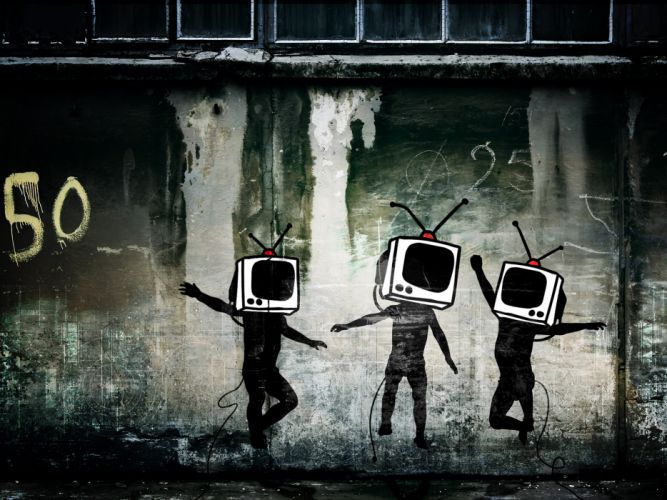 Tv wallpaper