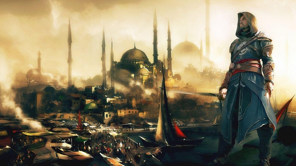 Video games istanbul mosque assasins creed wallpaper