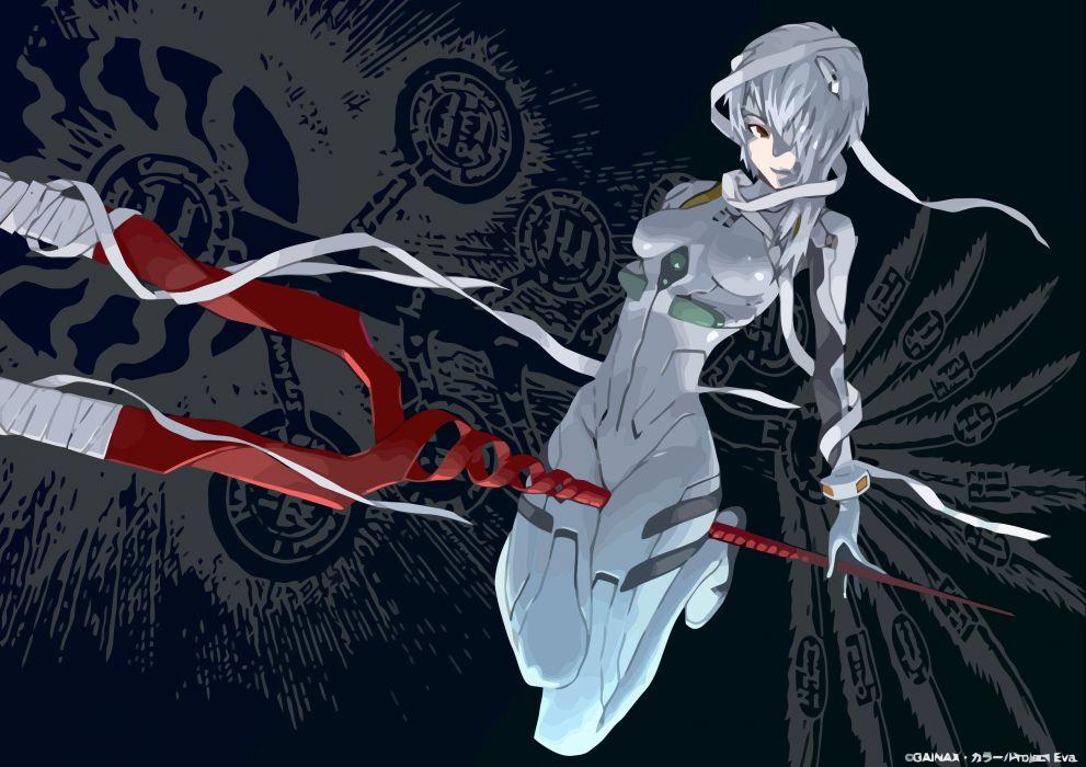 Ayanami rei neon genesis evangelion wallpaper
