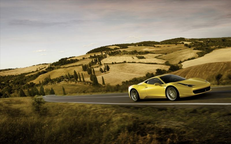 Cars supercars ferrari 458 italia wallpaper