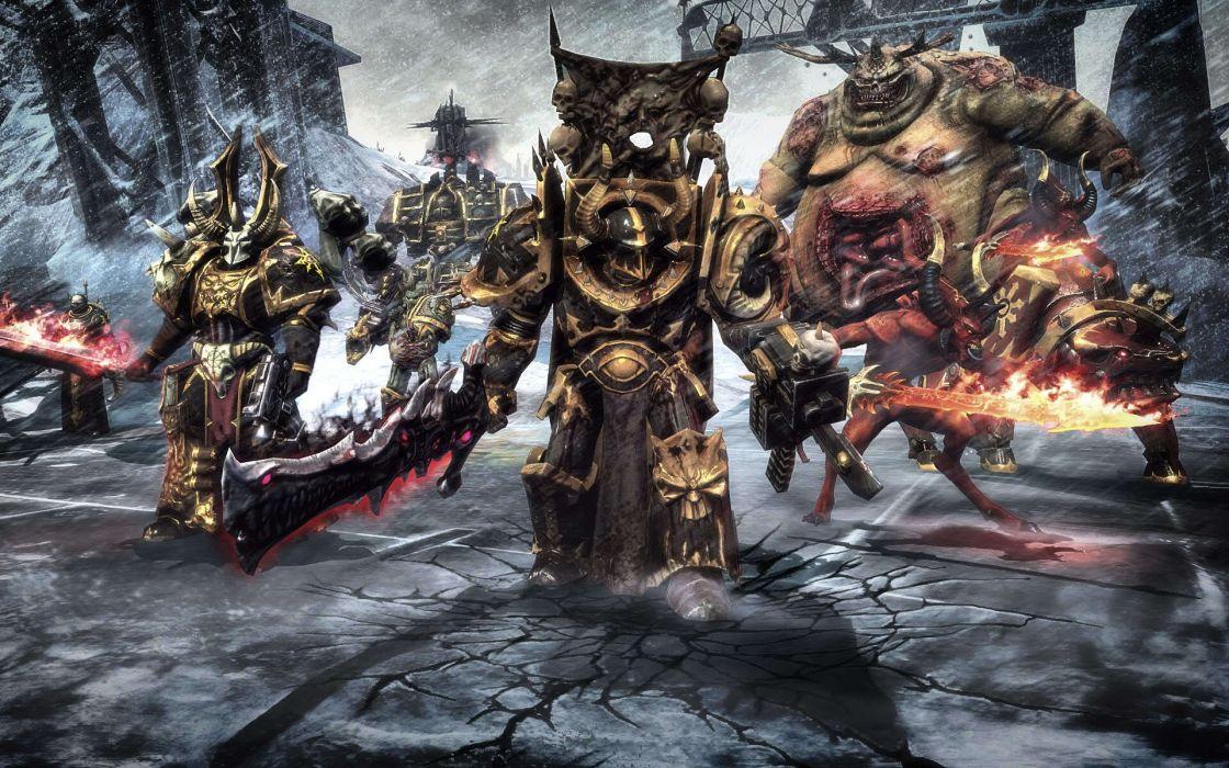 Warhammer warhammer 40k nurgle space marine chaos wallpaper