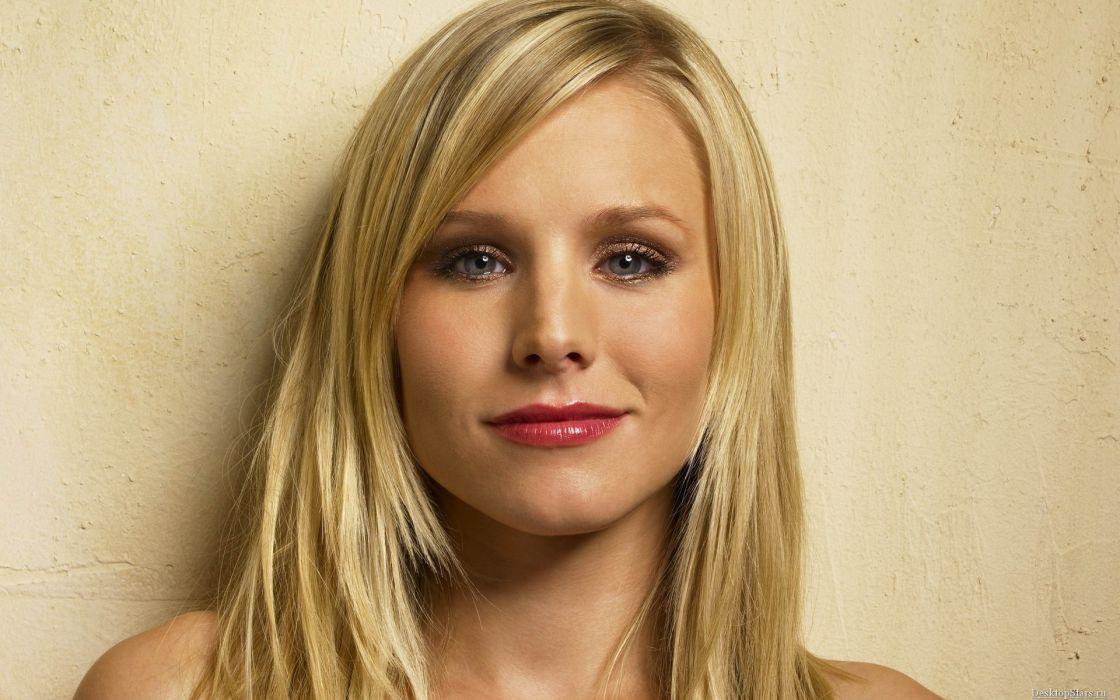 Women kristen bell actress celebrity lipstick wallpaper