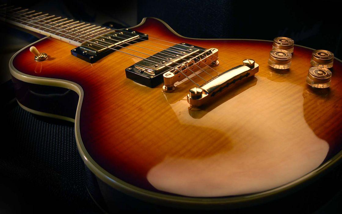Gibson les paul guitars wallpaper