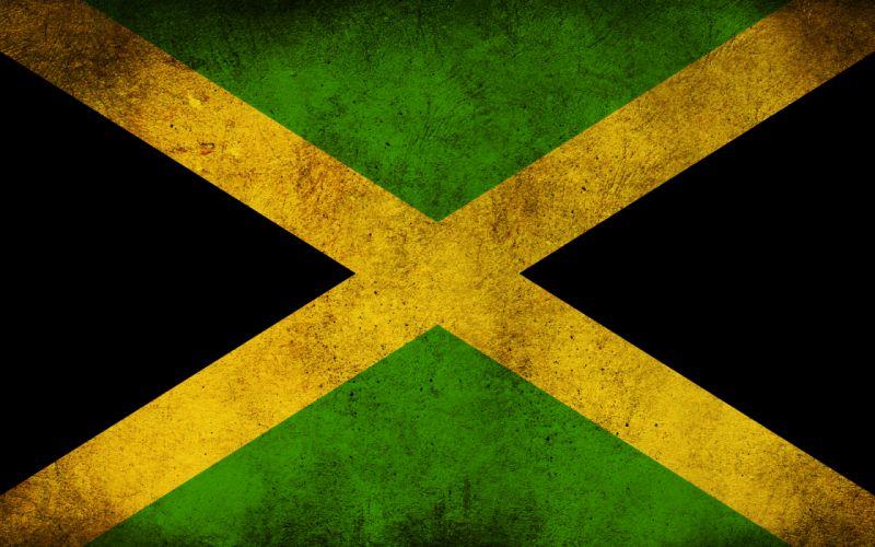 Jamaica flag wallpaper