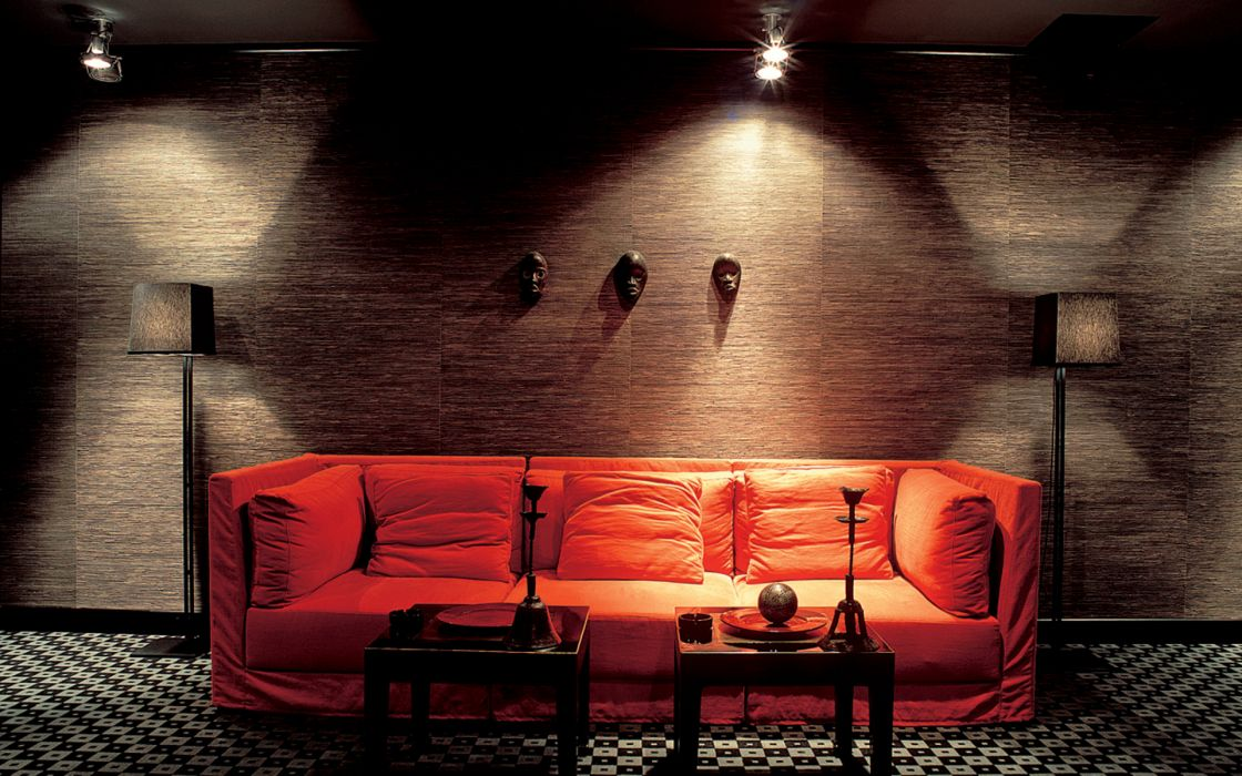 Couch indoors interior wallpaper