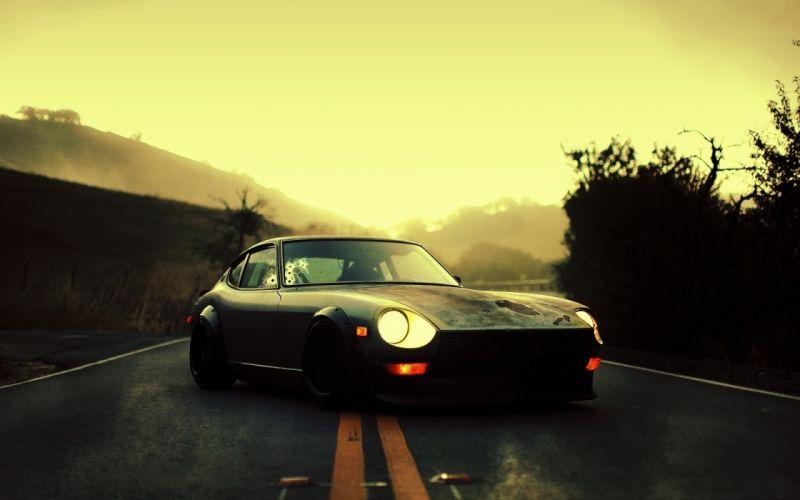 Cars hdr photography datsun 280z wallpaper