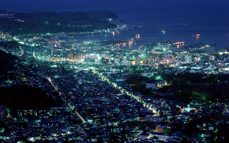 Cityscapes night wallpaper