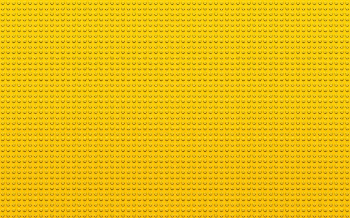 Lego yellow textures dots wallpaper