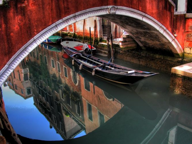 Hdr photography venise wallpaper
