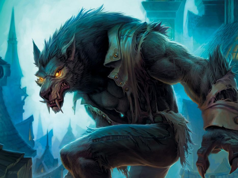 Wolfman wolves wallpaper