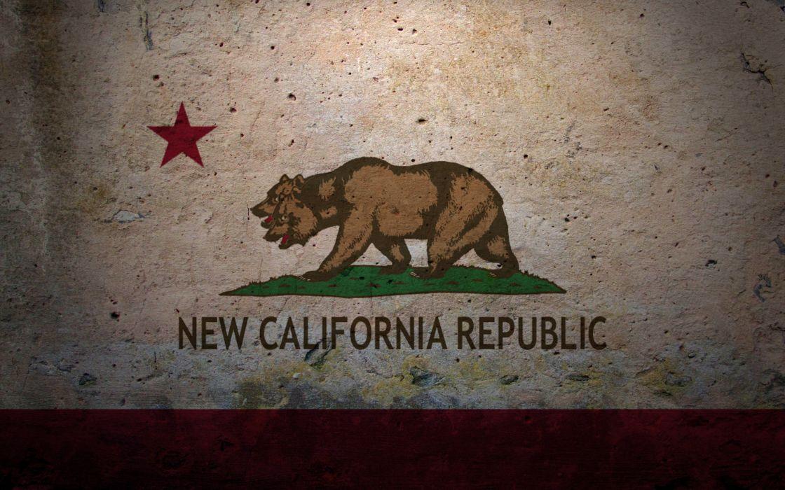 Video games flags fallout new vegas wallpaper