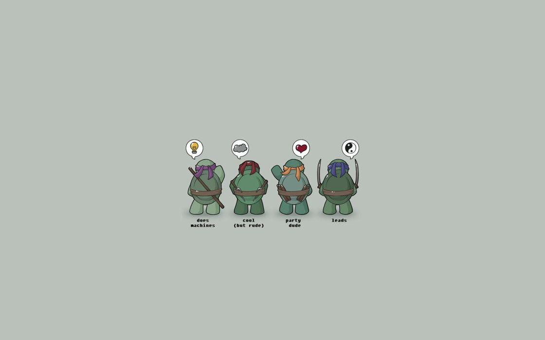 Teenage mutant ninja turtles alternative art wallpaper