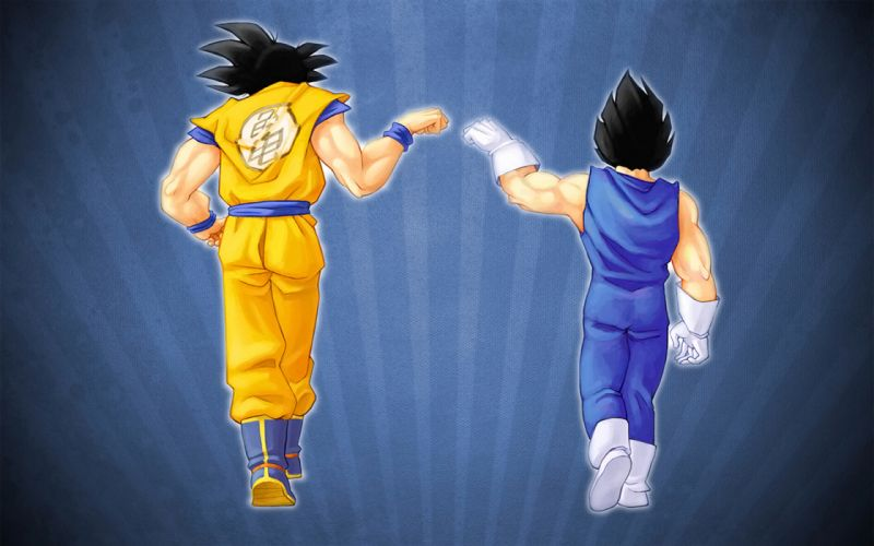 Blue vegeta son goku goku dragon ball z wallpaper