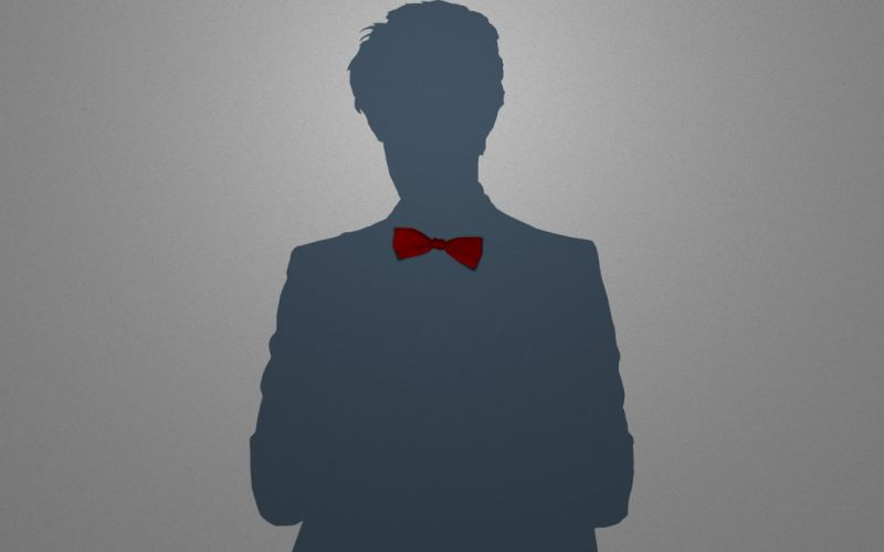 Minimalistic eleventh doctor doctor who bowtie wallpaper