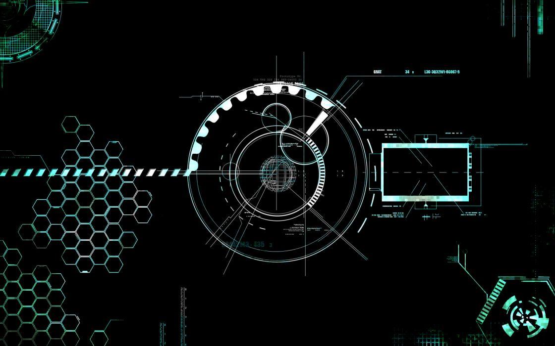 Vector technology wallpaper