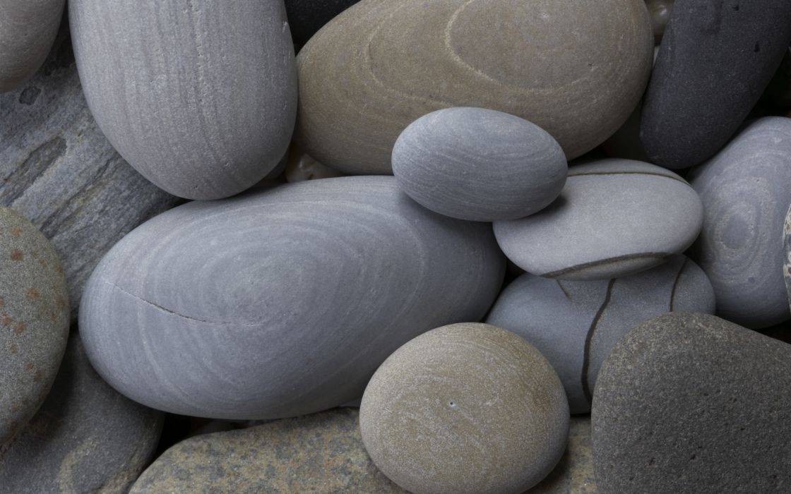 Rocks stones pebbles wallpaper
