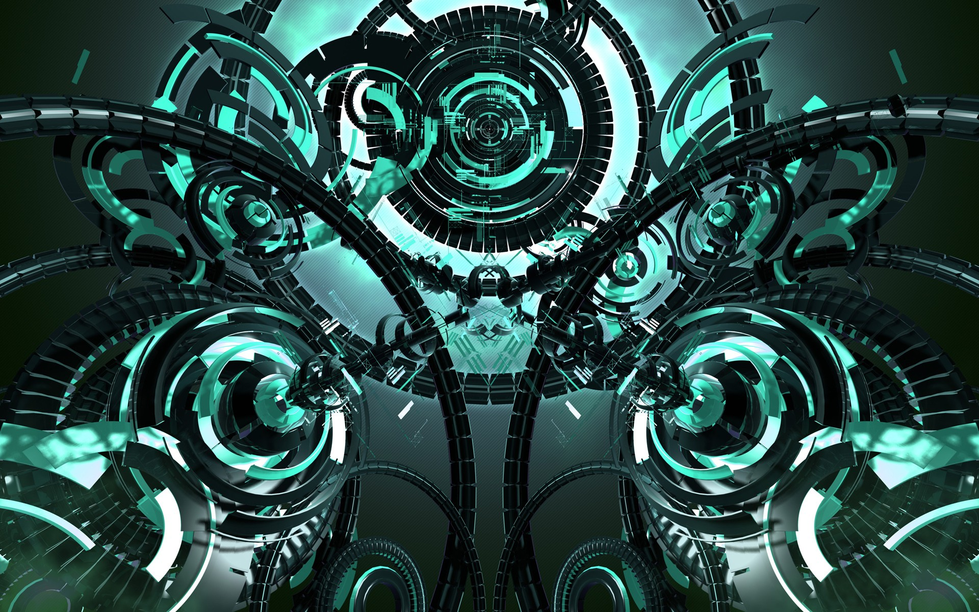 Abstract futuristic technology mechanism wallpaper ...