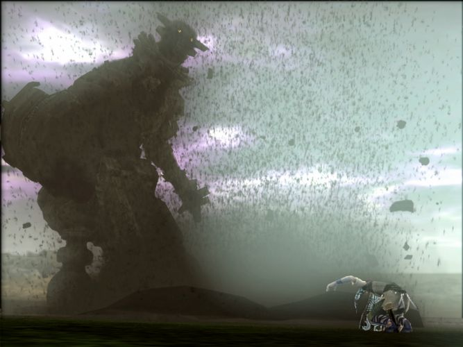 Colossus shadow of the colossus wallpaper