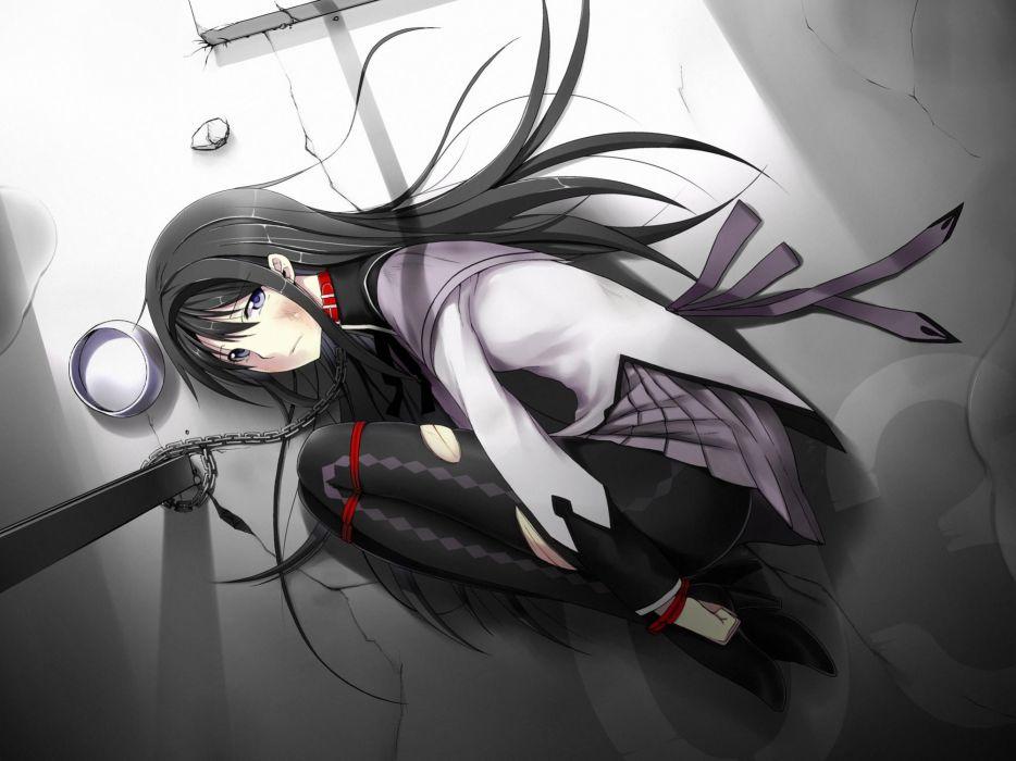 bondage anime girl