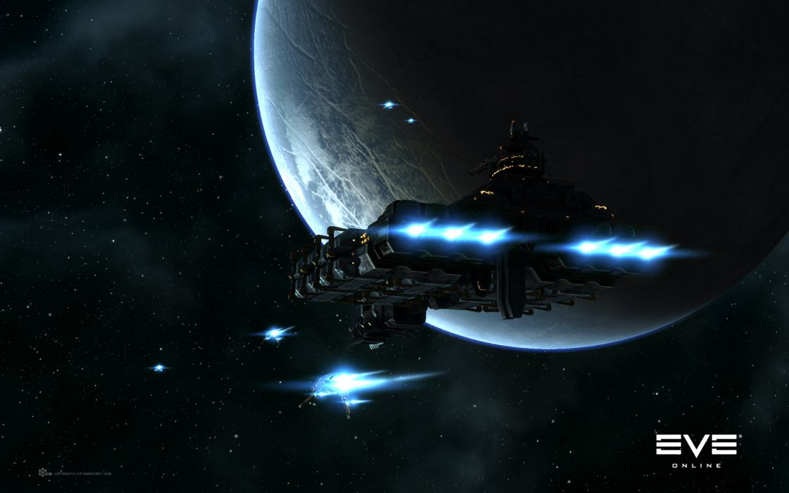 Video games outer space eve online wallpaper