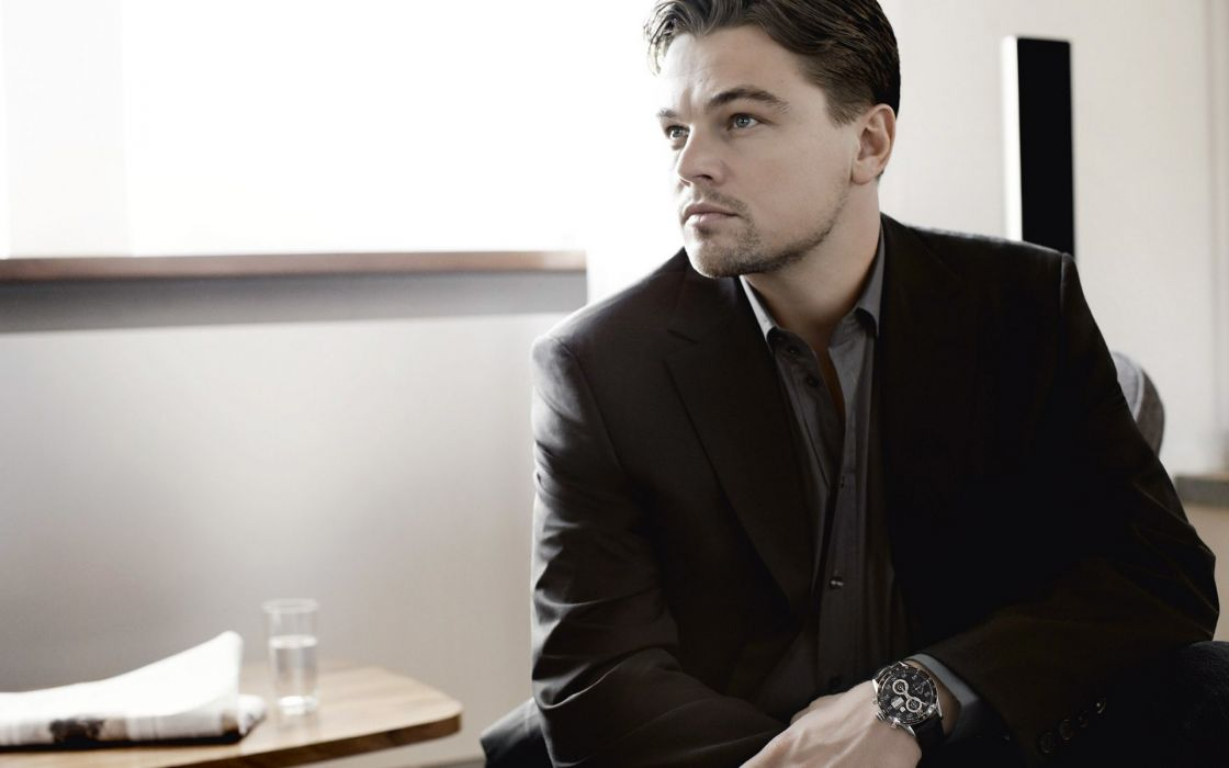 Black and white people actors leonardo dicaprio watches wallpaper