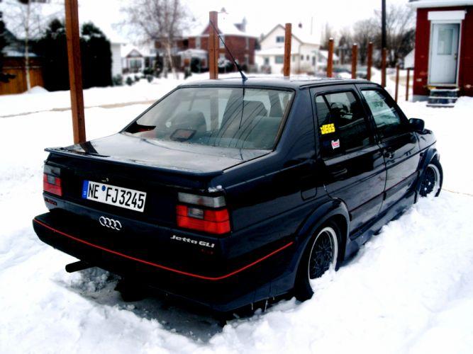 Snow cars jetta wallpaper