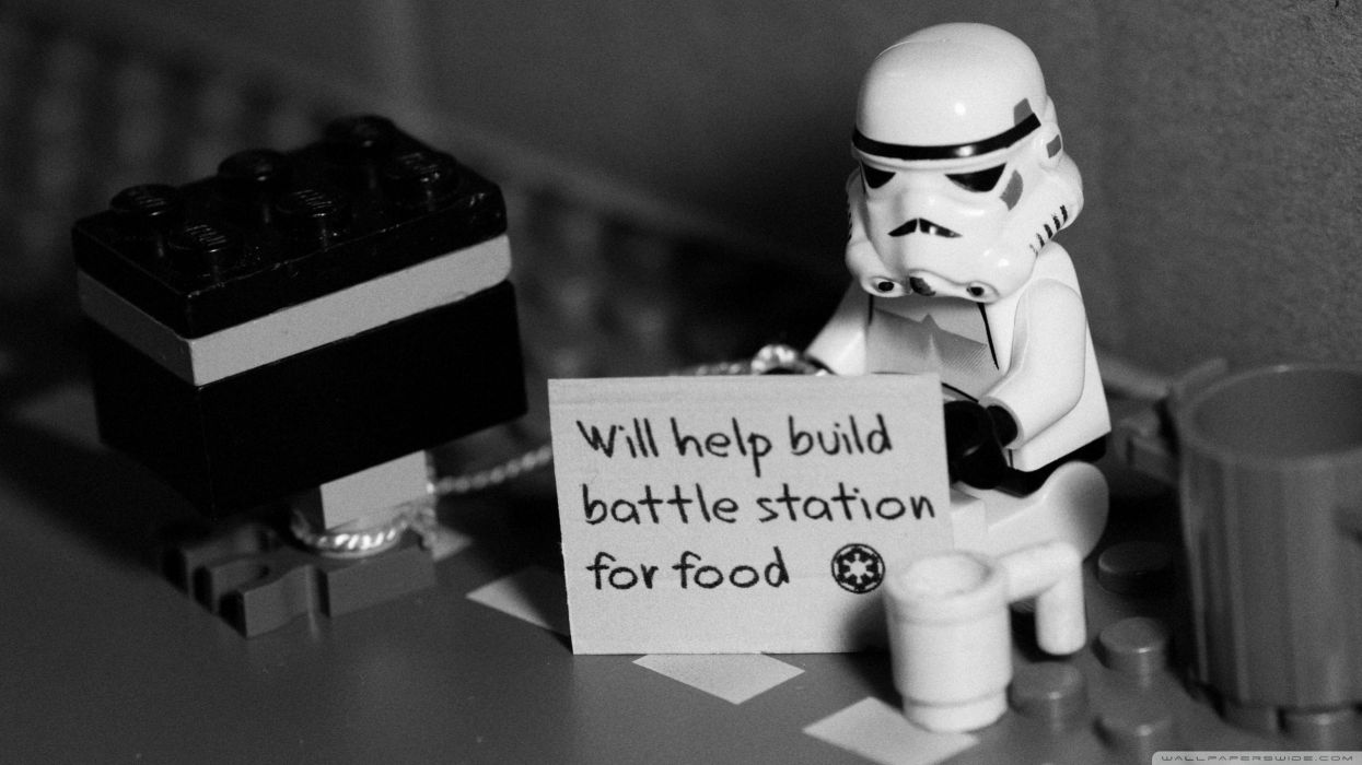 Star wars stormtroopers humor quotes help wallpaper