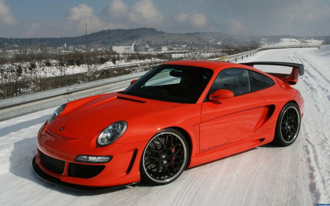 Porsche cars vehicles red cars wallpaper