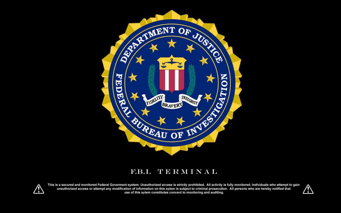 Fbi terminal logos wallpaper