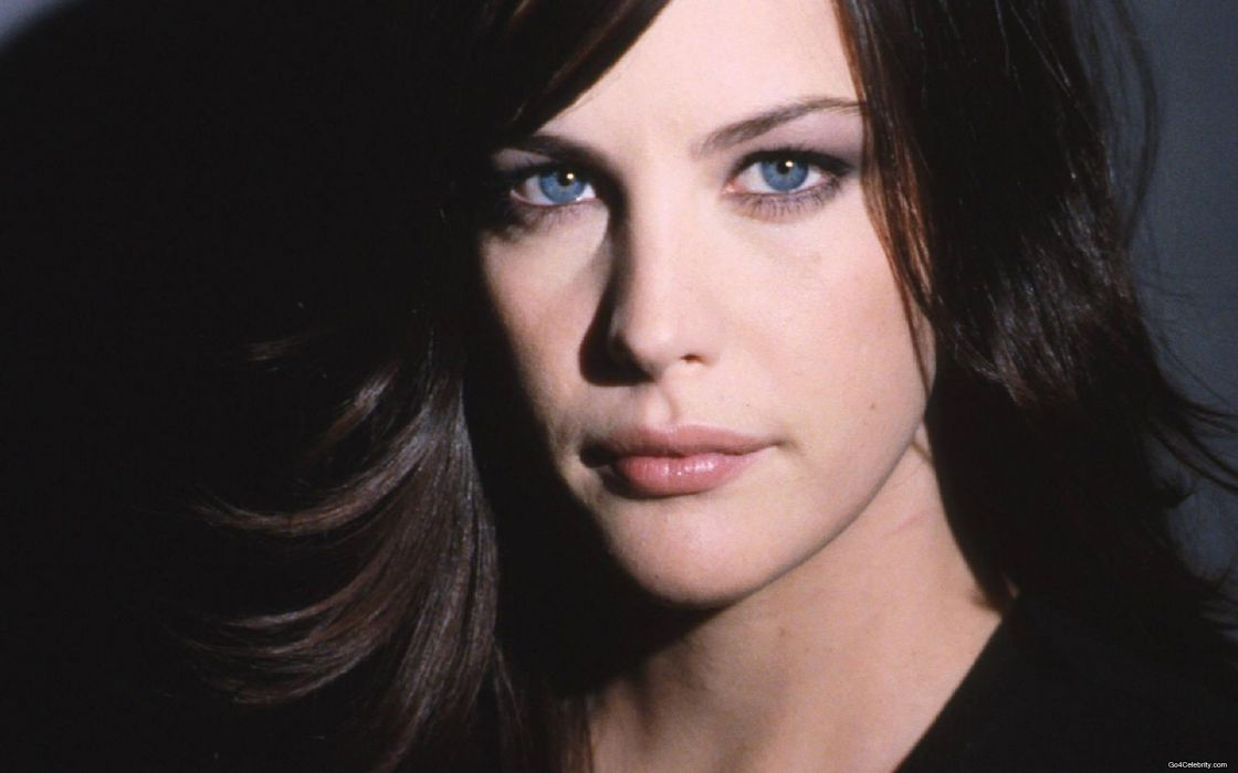 Brunettes women actress liv tyler faces wallpaper