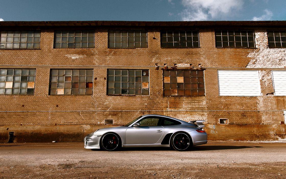 Porsche cars vehicles side view wallpaper