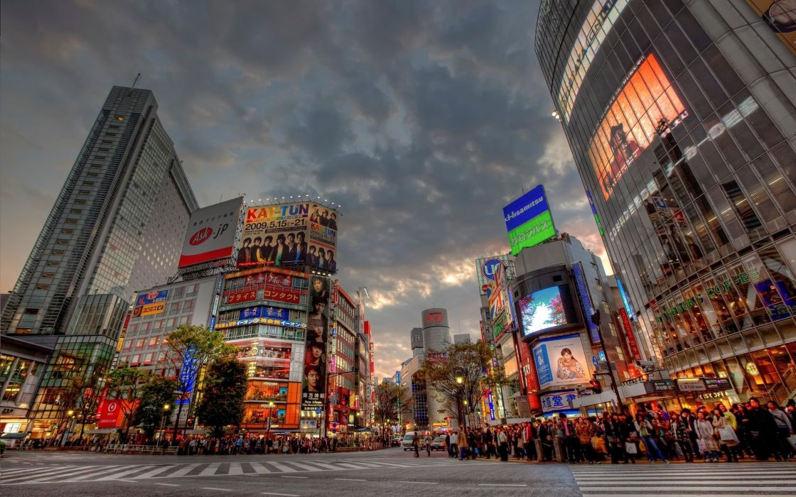 Japan cityscapes wallpaper