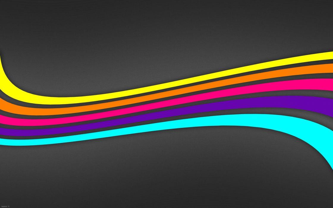 Abstract multicolor vector wallpaper