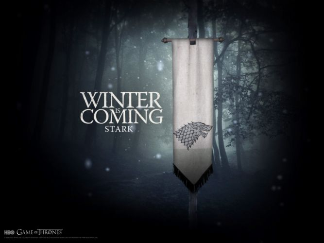 Dark flags game of thrones winter is coming wallpaper