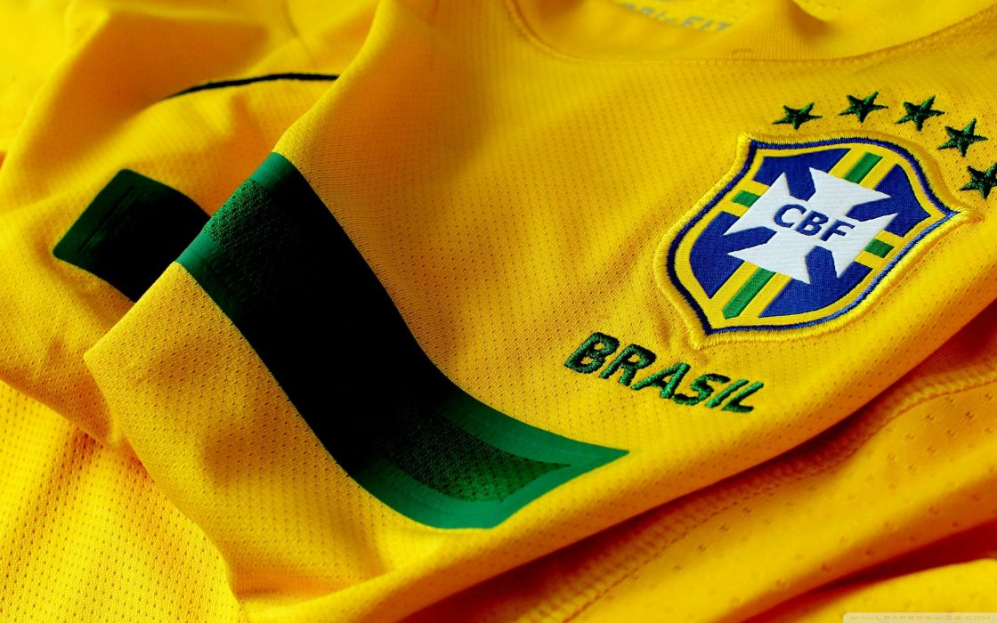 Brazil soccer jersey football jersey wallpaper